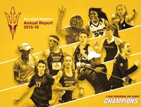 online magazine - 2015-16 Sun Devil Athletics Annual Report