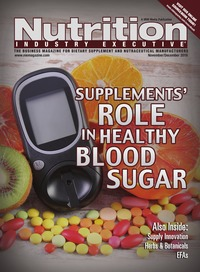 online magazine - Nutrition Industry Executive November/December 2016