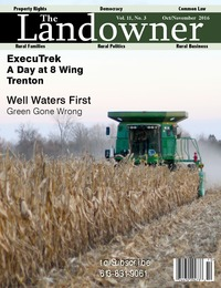 online magazine - The Landowner Magazine - Oct. / Nov. 2016 Volume 11 Number 3