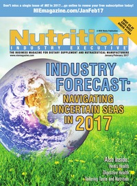 online magazine - Nutrition Industry Executive January/February 2017