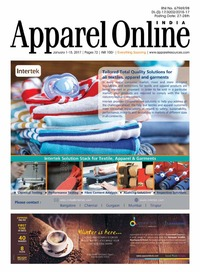 online magazine - Appparel Online India 1-15 Jan'17