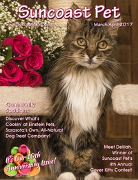 online magazine - Suncoast Pet - March-April 2017 - 10th Anniversary Issue