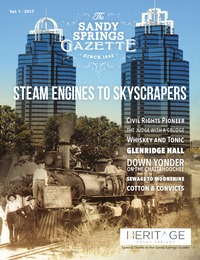 online magazine - Heritage Sandy Springs - The Story of Your Community Vol 1