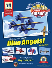 online magazine - Millville Wheels & Wings Airshow 2017