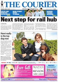 online magazine - The Courier and Wee Waa News, June 27, 2017