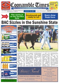 online magazine - Coonamble Times August 16, 2017