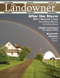 online magazine - The Landowner Magazine - June / July 2017 Volume 12 Number 1