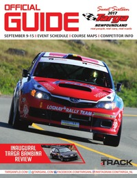online magazine - Official 2017 Targa Newfoundland Program