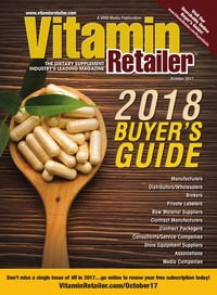 online magazine - Vitamin Retailer October 2017