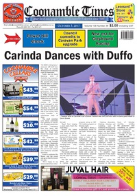 online magazine - Coonamble Times October 5, 2017