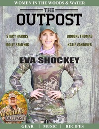 online magazine - The Outpost Magazine Women In The Woods and Water - Eva Shockey