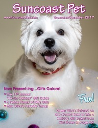 online magazine - Suncoast Pet - November - December 2017 - Holiday Issue