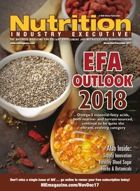 online magazine - Nutrition Industry Executive November/December 2017