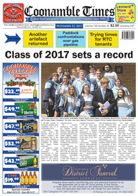 online magazine - Coonamble Times November 22, 2017
