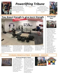online magazine - Powerlifting Tribune - Issue 2