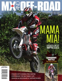 online magazine - MX and Off-Road • Vol. 16, Iss. 03 • Fall 2017