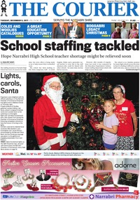online magazine - The Courier and Wee Waa News, December 5, 2017