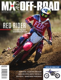 online magazine - MX and Off-Road • Vol. 16, Iss. 04 • Winter 2018