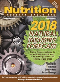 online magazine - Nutrition Industry Executive January/February 2018