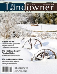 online magazine - The Landowner Magazine - Dec. / Jan. 2018 Volume 12 Number 4