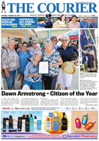 online magazine - The Courier and Wee Waa News, January 30, 2018