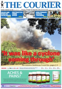online magazine - The Courier and Wee Waa News, February 20, 2018