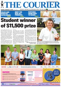 online magazine - The Courier and Wee Waa News, February 27, 2018