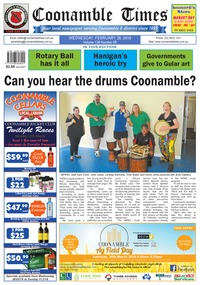 online magazine - Coonamble Times, 28 February 2018