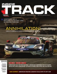 online magazine - Inside Track • Vol. 22, Iss. 01 • April 2018