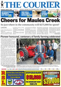 online magazine - The Courier, March 8, 2018