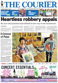 online magazine - The Courier and Wee Waa News, March 13, 2018