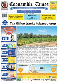 online magazine - Coonamble Times, 21 March 2018