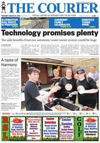 online magazine - The Courier, March 22, 2018
