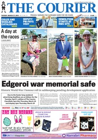 online magazine - The Courier and Wee Waa News, March 27, 2018