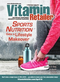 online magazine - Vitamin Retailer April 2018