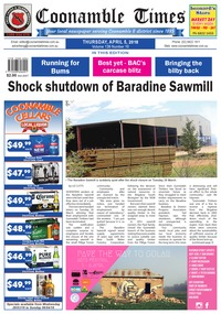 online magazine - Coonamble Times, 5 April 2018