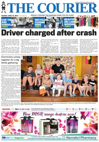online magazine - The Courier and Wee Waa News, April 10, 2018