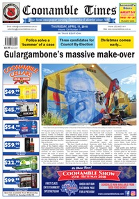 online magazine - Coonamble Times, 11 April 2018