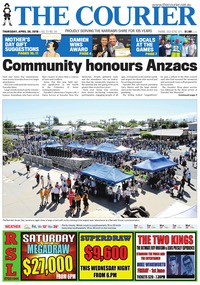 online magazine - The Courier, April 26, 2017