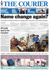 online magazine - The Courier and Wee Waa News, May 1, 2018