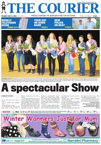 online magazine - The Courier and Wee Waa News, May 8, 2018