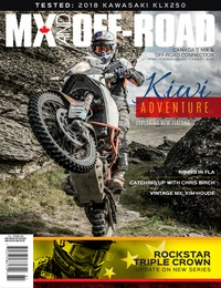 online magazine - MX and Off-Road • Vol. 17, Iss. 01 • Spring 2018 COMP