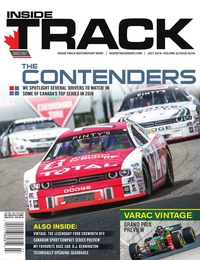 online magazine - Inside Track Motorsport News • Vol. 22, Iss. 03 • July 2018 COMP