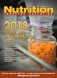 online magazine - Nutrition Industry Executive June 2018