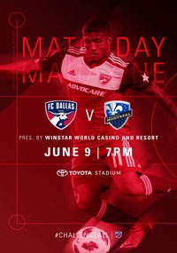 online magazine - Gameday Magazine vs Montreal Impact
