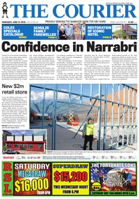 online magazine - The Courier, June 14, 2018