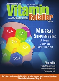 online magazine - Vitamin Retailer July 2018