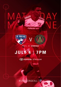 online magazine - Gameday Magazine vs. Atlanta United FC