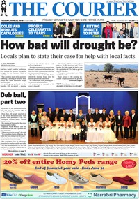online magazine - The Courier and Wee Waa News, June 26, 2018