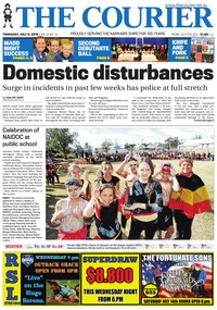 online magazine - The Courier, July 5, 2018